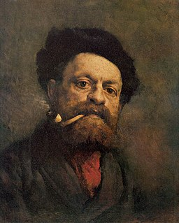 Gustave Courbet - Man with Pipe - WGA5499