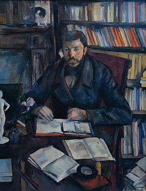 Portrait of Gustave Geffroy - Image: Gustave Geffroy Paul Cézanne