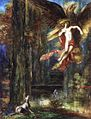 Gustave Moreau - The Abduction of Ganymède, 1886.jpg