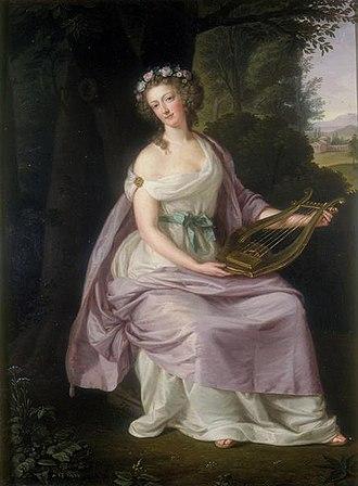 Ludwig Guttenbrunn - Image: Guttenbrunn Marie Antoinette as Erato 1788
