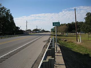 Guy, Texas Unincorporated community in Texas, United States