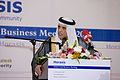 H.H. Sheikh Saud Bin Saqr Al Qasimi, The Ruler of Ras Al Khaimah, calling upon Arab businesses to embrace innovation and invest in knowledge - 2011 Horasis Global Arab Business Meeting - Flickr - Horasis.jpg
