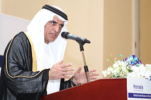 Saud bin Saqr al Qasimi - Image: H.H. Sheikh Saud Bin Saqr Al Qasimi Horasis Global Arab Business Meeting 2012