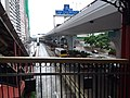 HK 上環 Sheung Wan north 干諾道中 Connaught Road Central Shun Tak Centre footbridge view morning August 2019 SSG 02.jpg