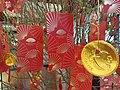 HK 中環 Central 干諾道中 5 Connaught Road 香港文華東方酒店 Mandarin Hotel lobby red lucky envelopes CNY tree January 2020 SS2.jpg