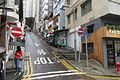 HK 中環 Central 鴨巴甸街 Aberdeen Street ramp stop sign taffic signs no entry June 2017.jpg