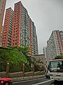 HK 北角半山 North Point Mid-Levels 雲景道 77 Cloud View Road view Coral Court facades Apr-2014 n Beverley Heights.JPG