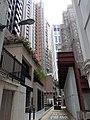 HK CWB Causeway Bay 銅鑼灣道 Tung Lo Wan Road 信德街 Shelter Street back lane April 2021 SS2 02.jpg