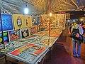 HK Yau Ma Tei night Shanghai Street 眾坊街夜市場 Public Square Street market stall painting Apr-2013.JPG