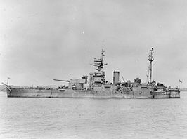 HMS Abercrombie in 1946