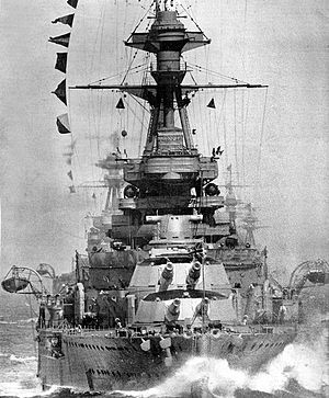 HMS Royal Oak on manoeuvres, 1928.jpg
