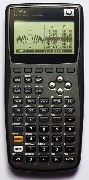 HP 39/40 series - HP 40gs