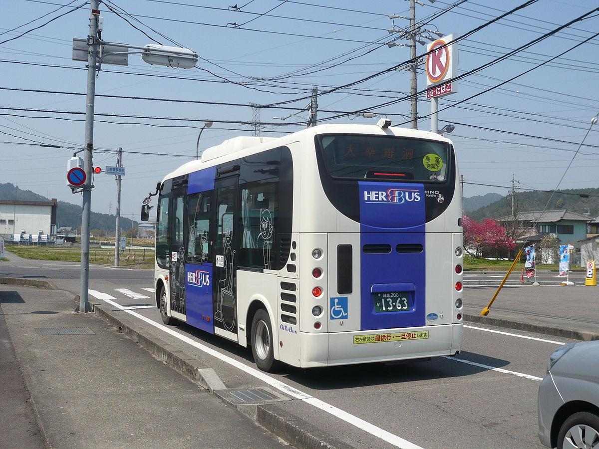 山県市自主運行バス