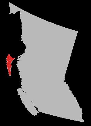 Council of the Haida Nation - Image: Haida Gwaii Map