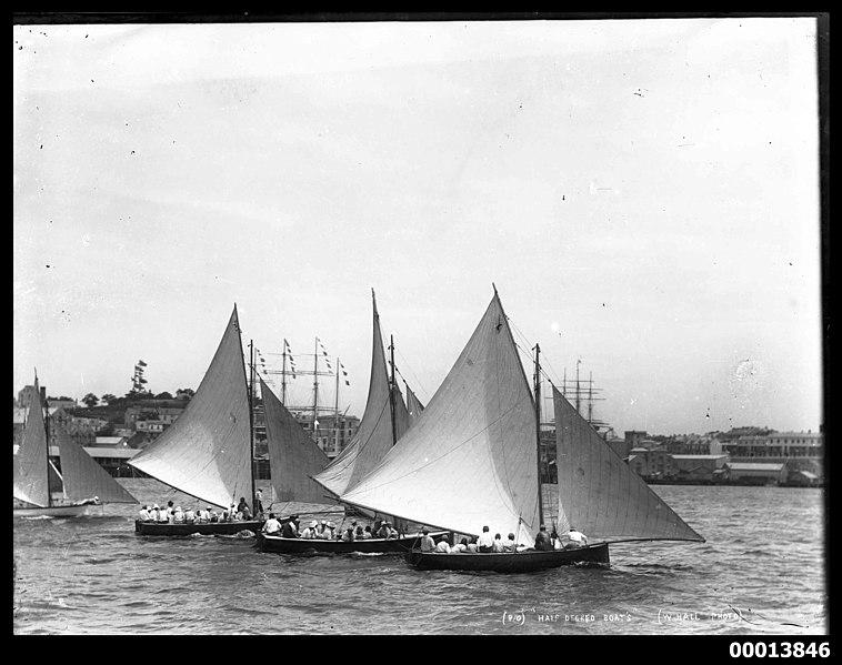 File:Half decked boats, Sydney Harbour (7974750067).jpg