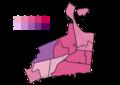 Hamilton, Ontario 2018 Ward 1 City Councillor Election results by poll.png