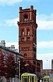 Hamilton Square station tower from Bridge Street.jpg