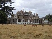 Hampton Court House from Bushy Park 03