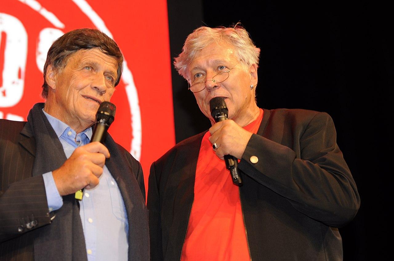 Hanno Harnisch Ulrich Maurer Die Linke Wahlparty 2013 (DerHexer) 01.jpg