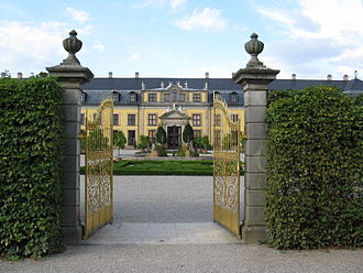 Herrenhausen Palace - Gilded Gates and Galerie