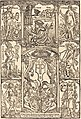 Hans Süss von Kulmbach, Celtes Surrounded by Greek and Roman Gods, published 1502, NGA 30328.jpg