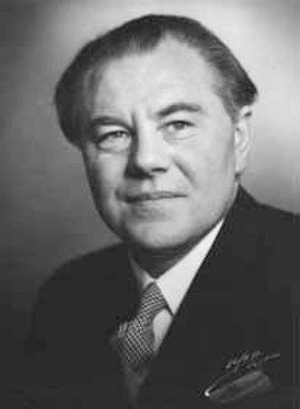 1953 Danish Folketing election - Image: Hans hedtoft