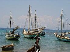 Harbour Petite Riviere de Nippes Haiti