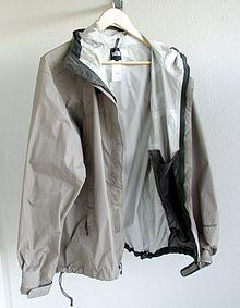 A waterproof breathable (hard shell) jacket 0dbf2fd1c