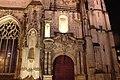 Harfleur - Église Saint-Martin - façade nuit 01.jpg
