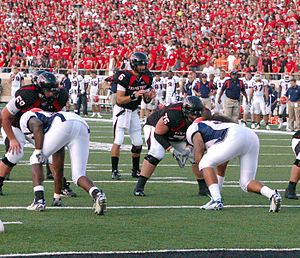 2007 Texas Tech Red Raiders football team - Graham Harrell leads Tech offense against UTEP