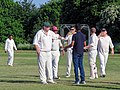 Hatfield Heath CC v. Netteswell CC on Hatfield Heath village green, Essex, England 34.jpg