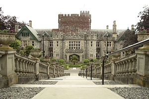 Hatley Park National Historic Site - Image: Hatley Castle