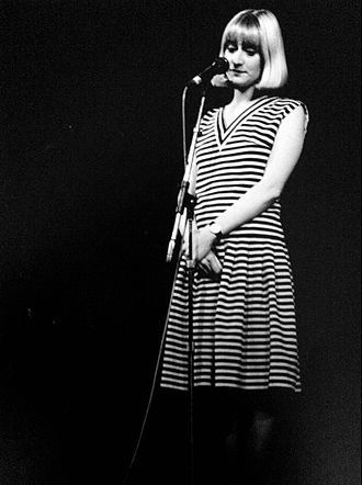Hattie Hayridge - Hayridge at the 1988 Comedy Festival.