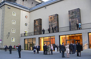 Kleines Festspielhaus -  Entrance of House for Mozart