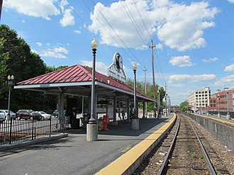 Haverhill Line - Haverhill is the current northern terminus of the line