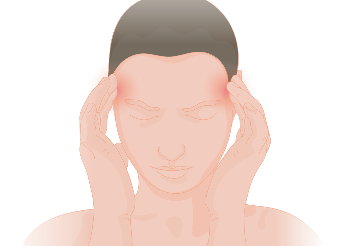 Sharp pain in head during intercourse