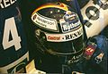 Heinz-Harald Frentzen Helmet at the 1997 British Grand Prix (2).jpg