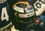 Heinz-Harald Frentzen Helmet at the 1997 British Grand Prix (2).jpg