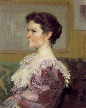 Clement Griscom - Image: Helen Biddle Griscom by Cecilia Beaux 1893