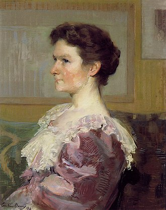 Clement Griscom - Image: Helen Biddle Griscom by Cecilia Beaux 1893