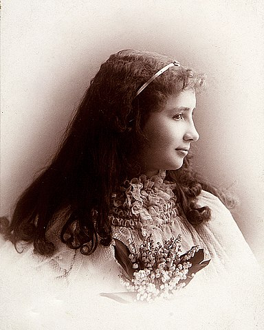 Келлер около 1892 года