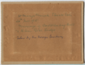 Helen and Aubrey's wedding, St Mary's Busselton, Nov 1910, back.png