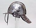 English cavalry helmet of the period