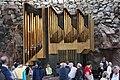 Helsinki, Organo della Chiesa di Temppeliaukio, scavata nella roccia. - panoramio.jpg