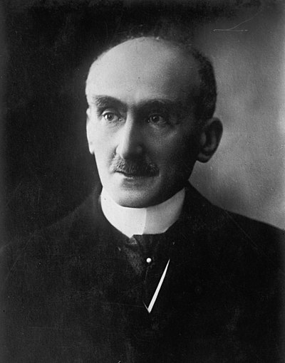 Picture of an author: Henri Bergson