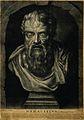 Heraclitus. Mezzotint by J. Faber. Wellcome V0002697.jpg
