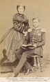 Hereditary Prince and Princess of Hohenzollern-Sigmaringen, 1863.png
