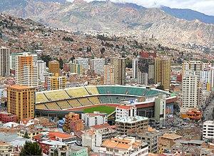 1963 South American Championship - Image: Hernando Siles Stadium La Paz