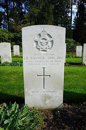 John Balmer - Grave at Heverlee War Cemetery