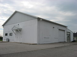 Township hall for Hicksville Township